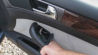 Audi A6, S6, RS6, Allroad Door Panel Removal FULL