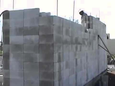 Building A Concrete Block House In The Philippines