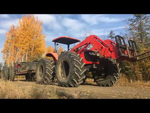 Sniper Buggy, Remote Reclamation. Alberta oilfield swamp tractor