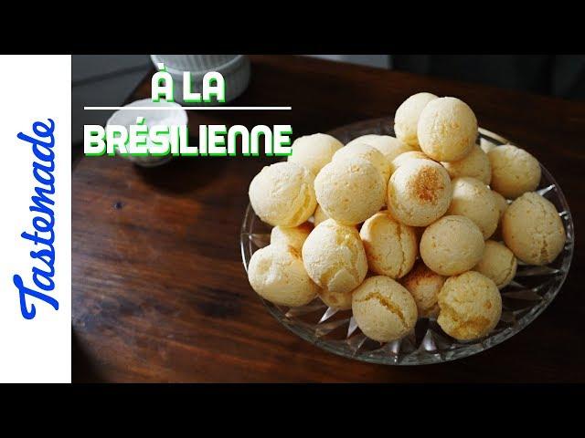 Pains au fromage - À la brésilienne