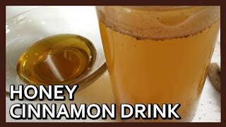 Honey Cinnamon Drink | Belly Fat Burn Water | Easy Weight Loss Recipe by Healthy Kadai