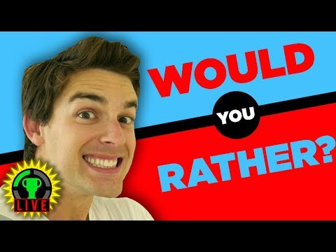 GTLive: WE'RE BACK, BUT CONFLICTED! | Would You Rather - MatPat after a long trip.