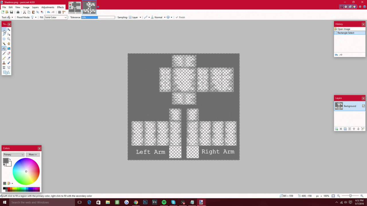 how to make a roblox shirt easy