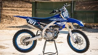 Setup tips, starting points, and suggestions for the 2019 Yamaha YZ...