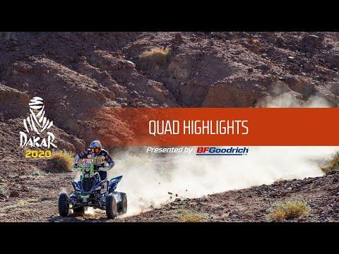 Dakar 2020 - Highlights Quad