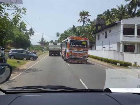 Crazy bus driver at Sri Lanka... thumbnail