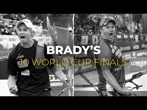 2010-2019: Brady Ellison's 10 Hyundai Archery World Cup Final appearances