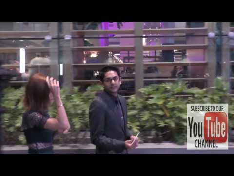 Adhir Kalyan and Emily Wilson talks about Netflix leaving The Do Over Premiere at LA Live in Los Ang