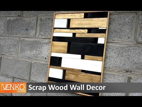 Scrap Wood Wall Decor