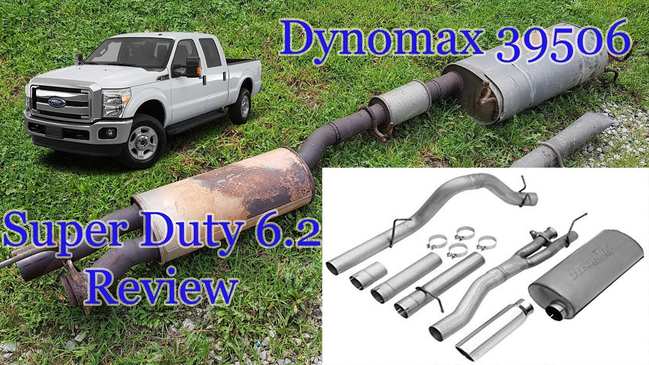 Dynomax Exhaust 39506 2011 - 2016 Ford F250 Super Duty 6.2 Review - YouTube