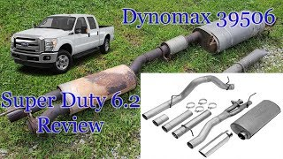 Dynomax Exhaust 39506 2011 - 2016 Ford F250 Super Duty 6.2 Review - YouTubeYouTube