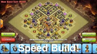 """Clash of Clans - """"Unbreakable Base?"""" Speed Build!"""