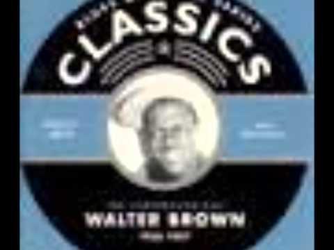 Walter Brown - Lying Woman Blues