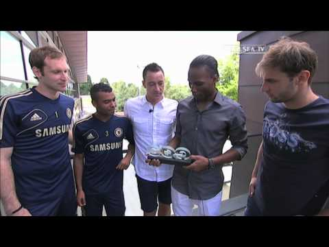 Chelsea FC - Drogba Wins GQ Sportsman Of The Year Award