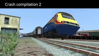 The compilation of train sim crash compilations.