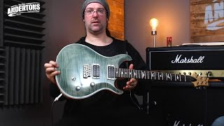 PRS USA CE24 & Baritone SE Guitars - New for 2016!!