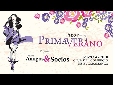 Pasarela Primavera - Verano - Revista Amigos & Socios