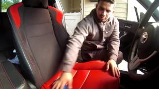 Seat covers for the FRS BRZ
