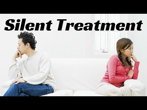 How Do You Deal With a Partner That Gives You The Silent Treatment?