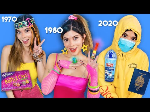 Candy Evolution Throughout History | 1960 to 2020