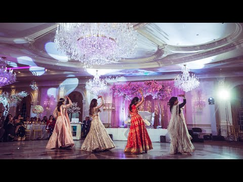 indian-wedding-dance-by-bride-&-sisters-|-jaani-tera-naa-|-mummy-nu-pasand-|-bollywood-|-2019