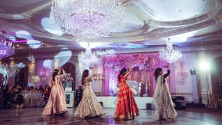 Best Bride & Sisters Reception Performance for Wedding | Jaani Tera Naa | Gali Gali