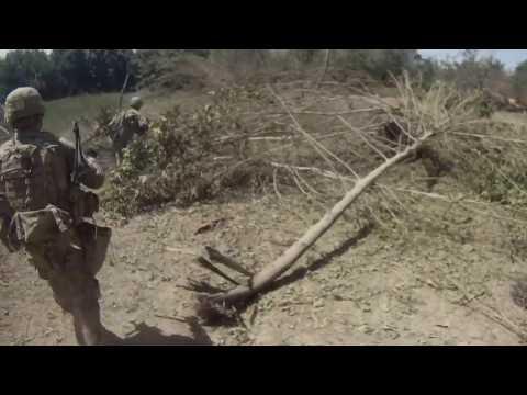 Firefight Kandahar Afghanistan