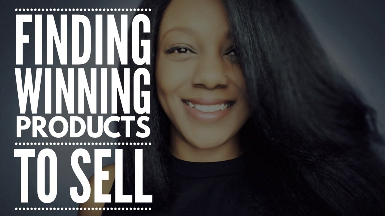 Ecommerce - Finding Winning Products to Sell