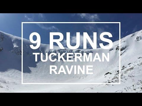 9 Runs at Tuckerman Ravine