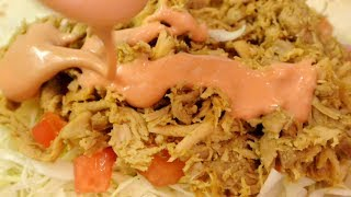 Curry Chicken wrap (No Talk No BGM 72)