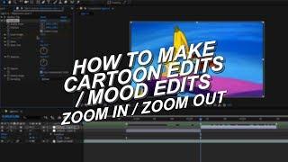 Zoom-In / Zoom-Out-Tutorial AE (Comic-Bearbeitungen/Stimmung Bearbeitungen) [veraltet]