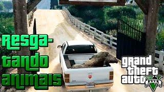 GTA V: Resgatando animais