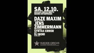 Jens Zimmermann & Syntax Error b2b at Snork Night at Suicide Circus Berlin