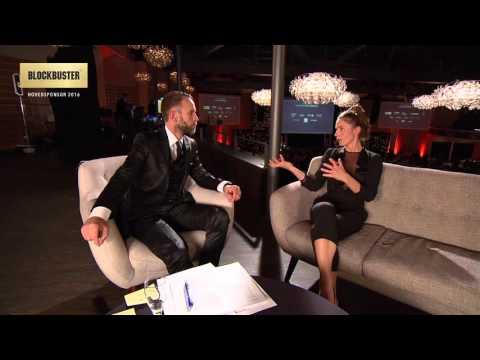 Interview Årets kvindelige hovedrolle Tuva Novotny