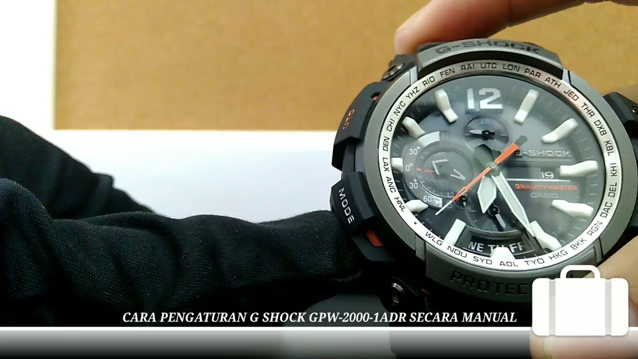 Operation beautiful goods ]casio g-shock 5524 tough solar titanium.