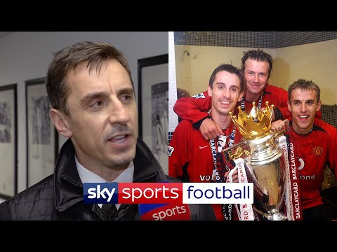 Gary Neville shares the secret to the Neville brothers' successful career