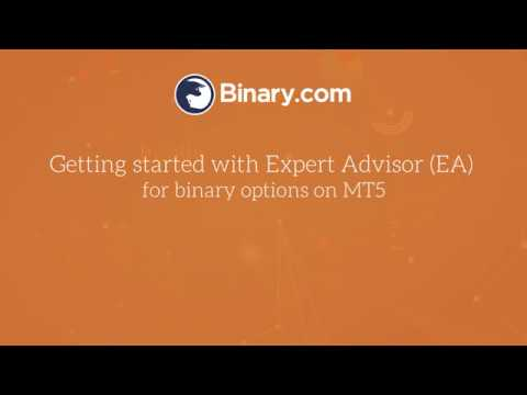 Binary Com Getting Started With Expert Advisor On Metatrader 5