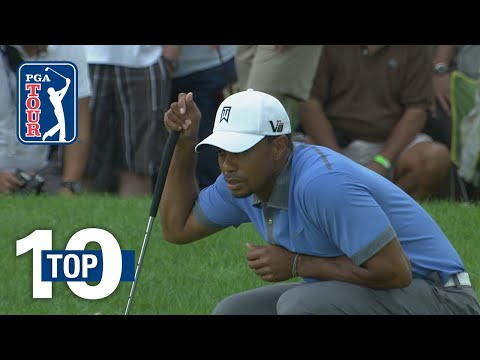 Tiger Woods all-time shots at Firestone