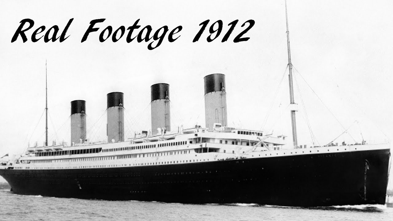 Original Titanic Ship Photos And Videos - YouTube