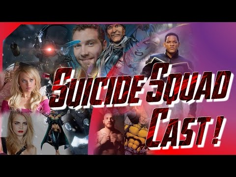 Breaking News! The Suicide Squad is Cast!