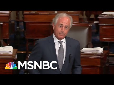 Senator Bob Corker: GOP Shouldn't Be Afraid To 'Poke The Bear' | MTP Daily | MSNBC