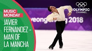 "Javier Fernandez' ""Man of La Mancha"" performance at PyeonChang 2018 