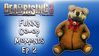 Dead Rising 3 Funny Co-op Moments ep. 2 (Teddy Bear, Football Zombies, Zombie Porn)