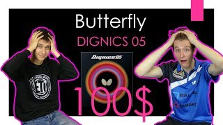 Butterfly Dignics 05 | review | #tabletennisexperts