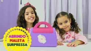 Maleta surpresa da doutora brinquedos ft Eloah e Diversão