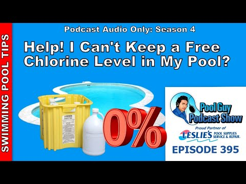 I Can't Keep A Free Chlorine Level In My Pool