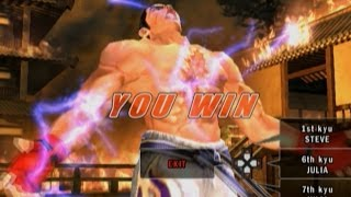 Tekken 5 - Kazuya with Devil Jin's Moves #1