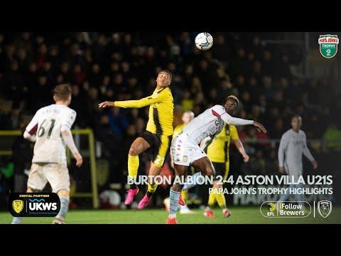 Burton Aston Villa U21 Goals And Highlights