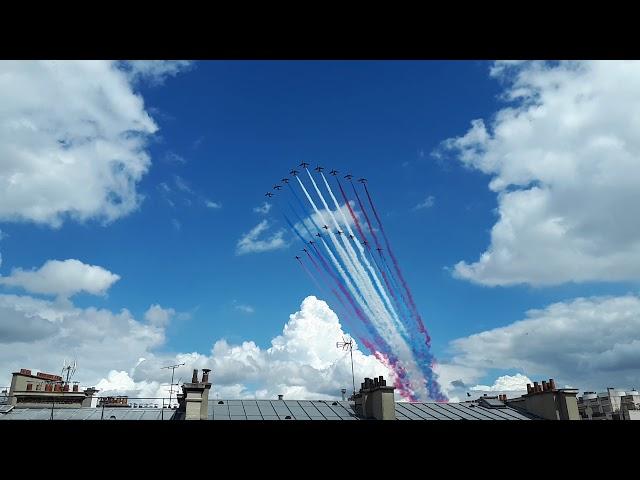 La Patrouille de France et les Red Arrows - 18 juin 2020