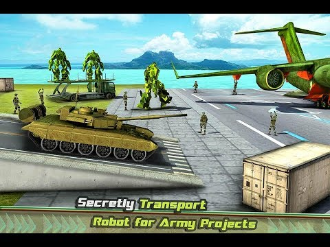 US Army Transport Game - Robot Transformation Tank (By Crazy Neuron Studio) Gameplay HD